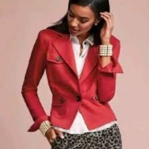 Cabi Little Red Jacket